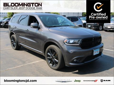 Certified Pre-Owned 2017 Dodge Durango GT Blacktop AWD Tow Heated Seats