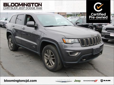 Certified Pre-Owned 2016 Jeep Grand Cherokee CERTIFIED Laredo 75th Anniversary Sunroof
