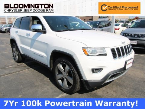 Certified Pre-Owned 2016 Jeep Grand Cherokee LTD LUX 2 PANO