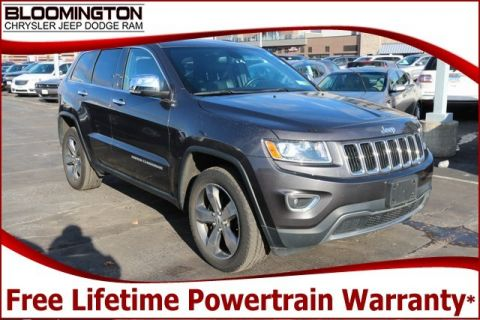 Pre-Owned 2015 Jeep Grand Cherokee Limited 4x4 Navigation Sunroof 20's