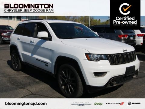 Certified Pre-Owned 2016 Jeep Grand Cherokee CERTIFIED Limited 75th Anniversary Nav Sunroof
