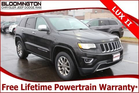 Pre-Owned 2015 Jeep Grand Cherokee Limited Luxury 2 Group Navigation Pano Sunroof