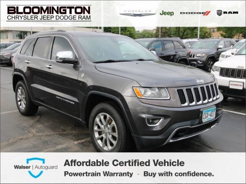 Pre-Owned 2015 Jeep Grand Cherokee Limited 4x4 Navigation Off Road Pkg.