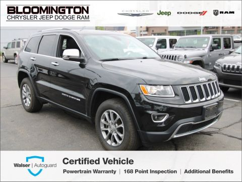 Pre-Owned 2016 Jeep Grand Cherokee CERTIFIED Limited 4X4 V8 Nav Tow Sunroof