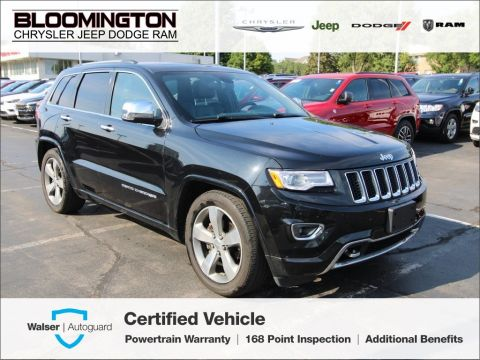 Pre-Owned 2016 Jeep Grand Cherokee CERTIFIED Overland 4X4 Navigation Sunroof Tow