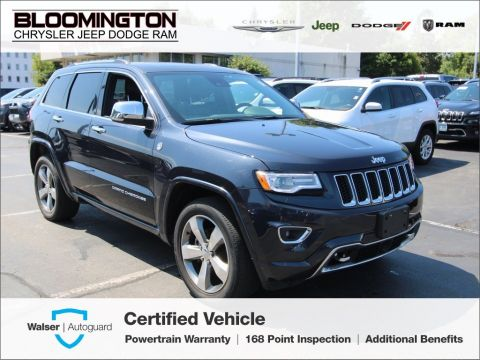 Pre-Owned 2016 Jeep Grand Cherokee CERTIFIED Overland Tech Group Nav Tow