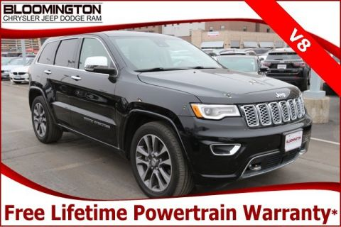 Pre-Owned 2017 Jeep Grand Cherokee Overland V8 4x4 Navigation Pano Sunroof Tow