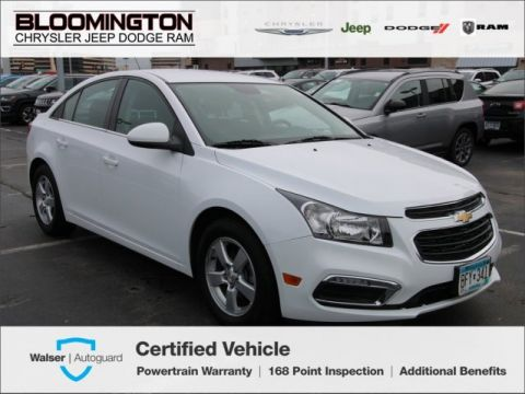 Pre-Owned 2016 Chevrolet Cruze Limited 1LT Tech Pkg Rear Back-up Camera