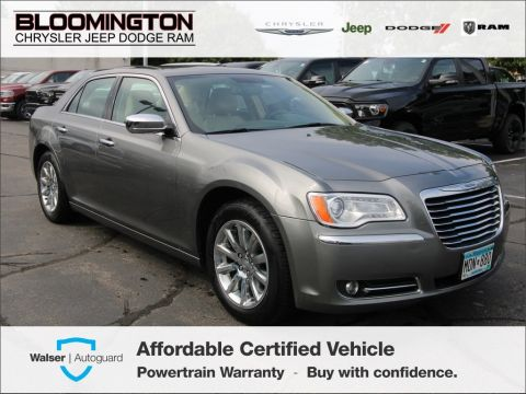Pre-Owned 2011 Chrysler 300 LTD RWD Heated Leather Seats