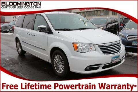 Pre-Owned 2015 Chrysler Town & Country Touring-L DVD Heated Leather