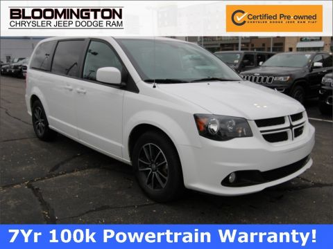 Certified Pre-Owned 2018 Dodge Grand Caravan GT HTLTHR NAV