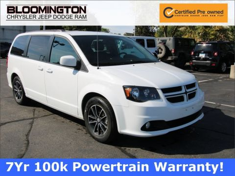 Certified Pre-Owned 2018 Dodge Grand Caravan GT HTD SEATS NAV
