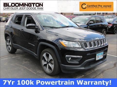 Certified Pre-Owned 2017 Jeep Compass LAT 4X4 CW TOW