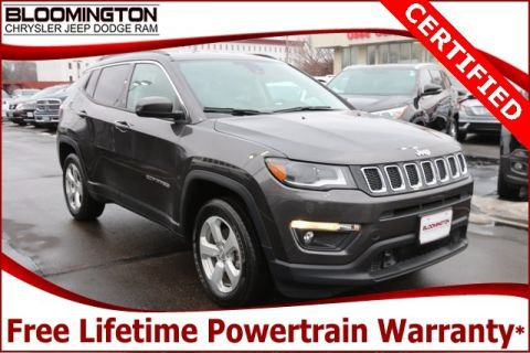 Certified Pre-Owned 2018 Jeep Compass CERTIFIED Latitude 4x4 Heated Cloth Backup Camera