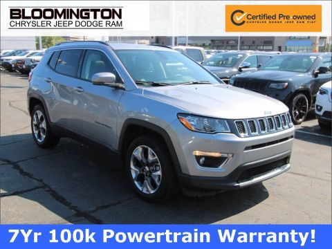Certified Pre-Owned 2019 Jeep Compass LTD SUNROOF
