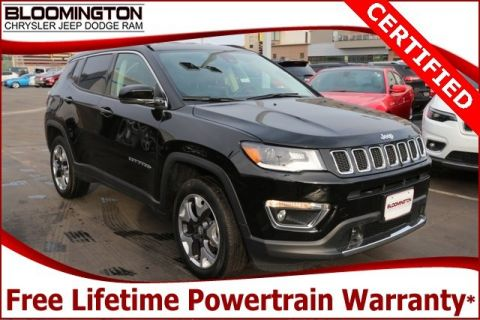 Certified Pre-Owned 2018 Jeep Compass CERTIFIED Limited 4x4 Navigation
