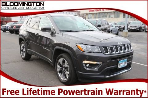 Pre-Owned 2017 Jeep Compass Limited 4x4 Navigation Tow