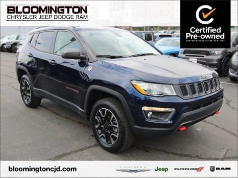 Certified Pre-Owned 2019 Jeep Compass CERTIFIED Trailhawk 4x4