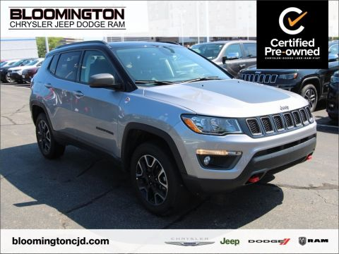 Certified Pre-Owned 2019 Jeep Compass CERTIFIED Trailhawk 4X4 Sunroof