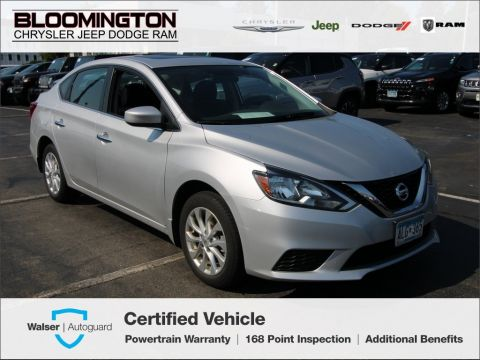 Pre-Owned 2017 Nissan Sentra SV Sunroof