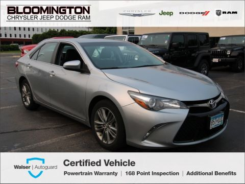 Pre-Owned 2016 Toyota Camry SE Back-up Cmaera Alloys